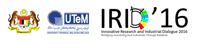IRID'16 | Innovative Research and industrial Dialogue